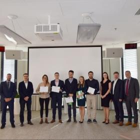 Studenti prezentovali své semestrální projekty před zástupci společnosti Kooperativa
